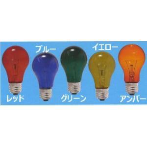 B アサヒ 耐熱透明カラー電球 ブルー PS70 E26 110V-100W(BT) 25個セット|hotaru