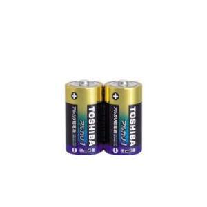 東芝 アルカリ乾電池 単1形 2本入り  LR20AG 2KP 『LR20AG2KP』
