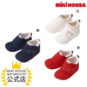 プレシューズ 白 赤 紺 11 12 11.5 12.5 10.5 ミキハウス MIKIHOUSE