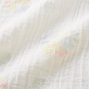 ミキハウス ダブルガーゼ素材のマルチケット 出産祝い 白 黄 グリーン みどり マルチカラー --- MIKIHOUSE hotbiscuits 08