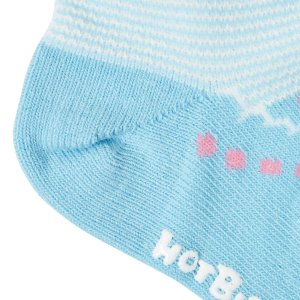 ホットビスケッツ ミキハウス 靴下 バレーシューズ風 ローカットソックス ピンク ブルー 11-13 13-15 15-17 17-19 HOT BISCUITS|hotbiscuits|12