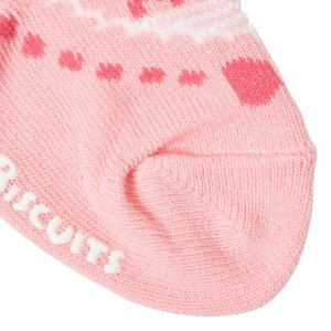 ホットビスケッツ ミキハウス 靴下 バレーシューズ風 ローカットソックス ピンク ブルー 11-13 13-15 15-17 17-19 HOT BISCUITS|hotbiscuits|07