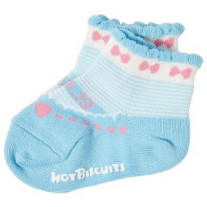ホットビスケッツ ミキハウス 靴下 バレーシューズ風 ローカットソックス ピンク ブルー 11-13 13-15 15-17 17-19 HOT BISCUITS|hotbiscuits|08
