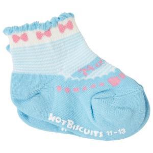 ホットビスケッツ ミキハウス 靴下 バレーシューズ風 ローカットソックス ピンク ブルー 11-13 13-15 15-17 17-19 HOT BISCUITS|hotbiscuits|09