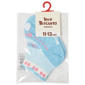 ホットビスケッツ ミキハウス 靴下 バレーシューズ風 ローカットソックス ピンク ブルー 11-13 13-15 15-17 17-19 HOT BISCUITS|hotbiscuits|10