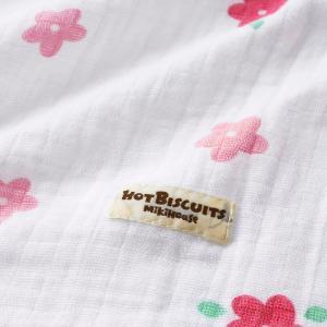 ホットビスケッツ ミキハウス 出産祝い マルチケット ガーゼ 二重織  ピンク ベージュ ブルー マルチカラー --- HOT BISCUITS|hotbiscuits|04