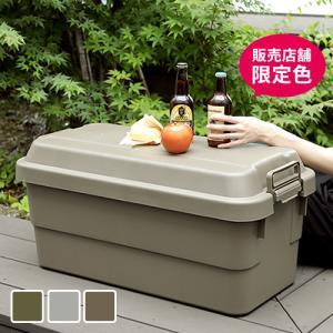 収納ボックス フタ付き トランクカーゴ 70L  座れる 収納 大容量 プラスチック 無地 おもちゃ箱 アウトドア キャンプ TRUNK CARGO|hotchpotch
