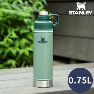 水筒 STANLEY スタンレー クラシック真空ウォーターボトル 0.75L 02286-046 ステンレスボトル 保冷|ホッチポッチ自由が丘WEB SHOP