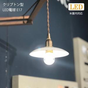クリプトン型LED電球 E17 照明 ライト 外灯 玄関灯 電球 LED電球 E17 おしゃれ レトロ アンティーク シャンデリア|hotcrafts