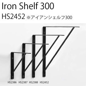 IRON SHELF 300 アイアン シェルフ 棚 アクシス 壁面収納 鉄 インテリア デザイン おしゃれ|hotcrafts