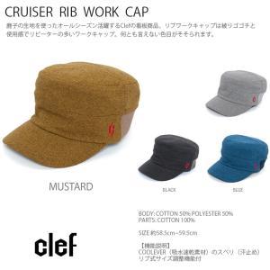 rb3426 CRUISER RIB WORK CAP 帽子 ハット キャップ ハンチング メンズ レディース Clef クレ hotcrafts