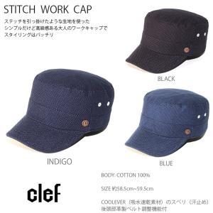 rb3541 STITCH WORK CAP 帽子 ハット キャップ ハンチング メンズ レディース Clef クレ hotcrafts