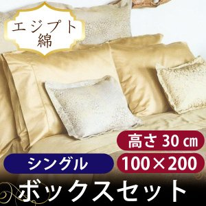 ボックスシーツ1枚 額なし枕カバー2枚  バーディ シングル|hotel-like-interior