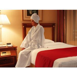 バスローブ/ホテルで採用されているバスローブ(ガウン)をご家庭向けに一着から販売します(ワッフル地タイプ)|hotelbed