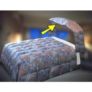 枕を包む部分のベッドカバー 2m巾サイズ(ベッド本体部分のベッドカバー(布団)は別途です)ホテル旅館仕様 hotelbed