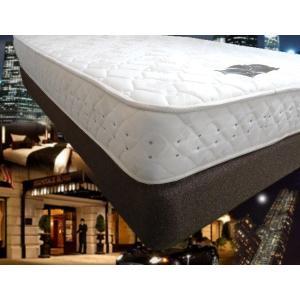 有名ホテル仕様のベッドマットレス 高級ホテル納入モデル 本物のホテル仕様ベッド ポケットコイルハード Sシングルサイズ(マットレスのみ)|hotelbed