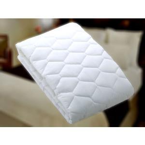 ベッドパッド/ホテル仕様★抗菌防臭ベッドパッド USシングルサイズ|hotelbed