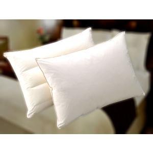ホテルの枕(2種類のマクラをセットで)ペアピロー(ホテルフェザーピロー+ホテルフェザーパイマーピロー)日本製|hotelbed