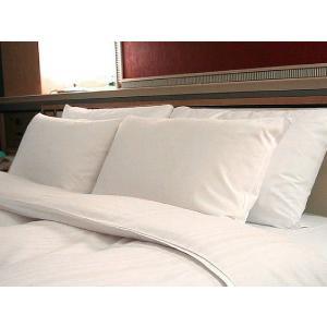 ホテルのフェザーピロー(枕)少し大きいサイズのマクラ 一流ホテルや高級旅館で採用◆安心の日本製 hotelbed 02