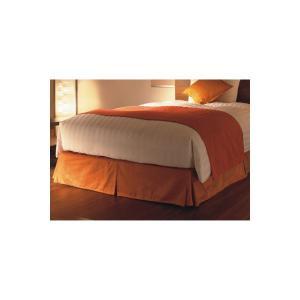 ホテルベッドスカート USシングルサイズ|hotelbed