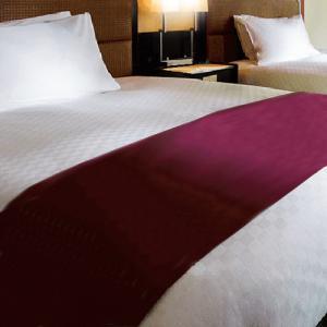 ベッドスロー 普段は高級ホテル向けにお納めしているベッドライナーをご自宅にもお届け (日本製) Q1ワイドダブルサイズ|hotelbed
