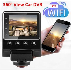 360度録画ドライブレコーダー。駐車監視機能を使うための直接配線ケーブル、バッテリーを使用しないスー...