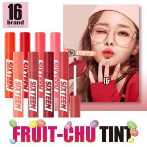 フルーチュー 16brand 国内正規品 リアルな果実色 ティント SIXTENN BRAND 送料無料|hotmart
