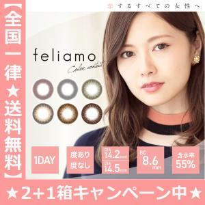【2箱セット】Feliamo(フェリアモ) 度あり 度なし ワンデー 1日 1箱10枚入 全6色 DIA14.2mm 14.5mm 白石麻衣 カラコン ブラウン ブラック キレイ|hotmart