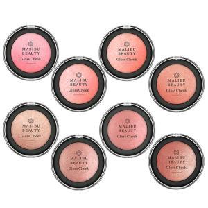 Maribu Beauty(マリブビューティー) グロスチーク 全8種類 チーク パール メイクアップ プチプラ カラーメイク ナチュラル コスメ 化粧品|hotmart