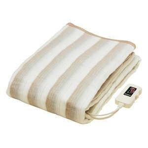 椙山紡織 NA-013K 電気毛布 洗える 電気掛け毛布 電気敷毛布 兼用タイプ ダニ退治 約188×130cm ダブル ゆったり 大きい サイズ あったかい 暖かい 防寒 hotmart