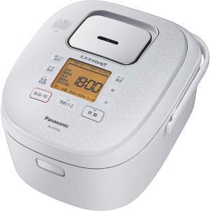 パナソニック 炊飯器 5.5合 IH式 大火力おどり炊き スノーホワイト SR-HX100-W hotmart