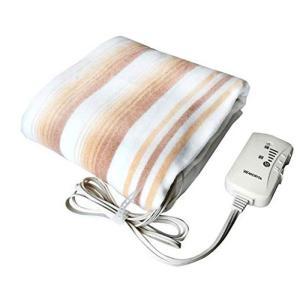 電気毛布 TMB-S14KS シングル 森田 電気敷毛布 約140×80cm 大きい ゆったり サイズ あったかい 暖かい 防寒|hotmart