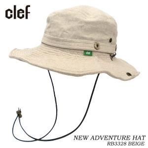 CLEF クレ アドベンチャーハット NEW ADVENTURE HAT BGE RB3328 hotobama