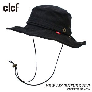 CLEF クレ アドベンチャーハット NEW ADVENTURE HAT BLK RB3328 hotobama
