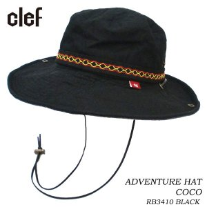CLEF クレ アドベンチャーハット ADVENTURE HAT COCO BLK RB3410 hotobama