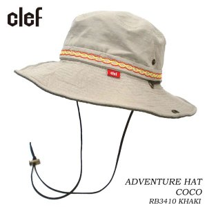 CLEF クレ アドベンチャーハット ADVENTURE HAT COCO KHI RB3410 hotobama