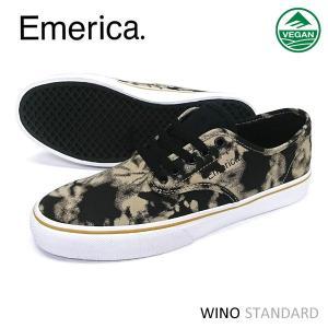 Emerica スニーカー WINO STANDARD Black Wash 正規品|hotobama