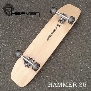 HEAVEN ロングスケートボード 完成品 HAMMER 36