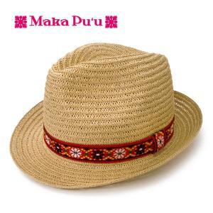 Maka Pu'u  マカプー ストローハット 帽子 Natural 0998-11SS hotobama