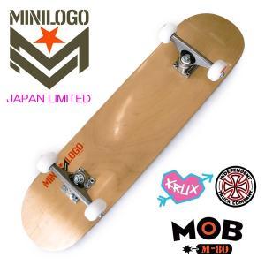 MINILOGO 本格コンプリートスケートボード 完成品 JAPAN LIMITED 7.625 Natural 正規品|hotobama