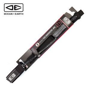 OCEAN&EARTH SUP用レースボード専用ニー コイルリーシュ 9feet 正規品 SUP R...