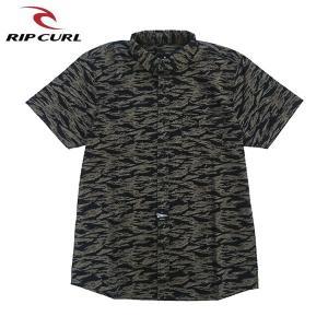 RIP CURL リップカール メンズ 半袖シャツ T01-120 GRE 正規品 BEACH SS SHIRT|hotobama