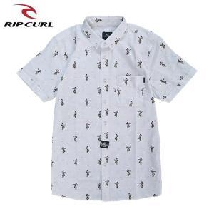 RIP CURL リップカール メンズ 半袖シャツ T01-120 WHT 正規品 BEACH SS SHIRT|hotobama