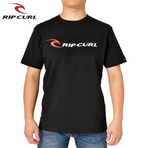 RIP CURL リップカール メンズ 半袖Tシャツ T01-200 BLK 正規品 RIPCURL CORP SS TEE|hotobama