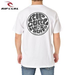 RIP CURL リップカール メンズ 半袖ポケットTシャツ T01-211 WHT 正規品 WETTY POCKET SS TEE|hotobama