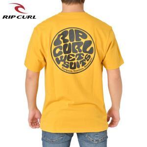 RIP CURL リップカール メンズ 半袖ポケットTシャツ T01-211 YEL 正規品 WETTY POCKET SS TEE|hotobama