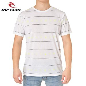 RIP CURL リップカール メンズ 半袖Tシャツ T01-300 WHT 正規品 FLAMINGO REPEAT SS VC TEE|hotobama