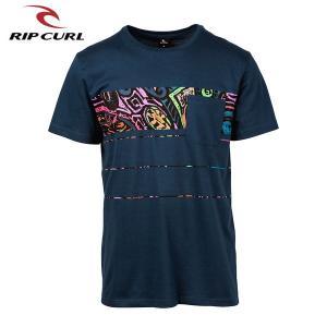RIP CURL リップカール メンズ 半袖ポケットTシャツ T01-301 NAV 正規品 SQUAD BLOCK SS TEE|hotobama