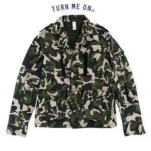 ■メーカー名:TURN ME ON ターン ミー オン ■商品名:メンズ M65ライダースジャケット...