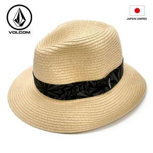 VOLCOM ボルコム ストローハット Stone Straw Hat NAT D55216JA 日本限定 正規品 hotobama